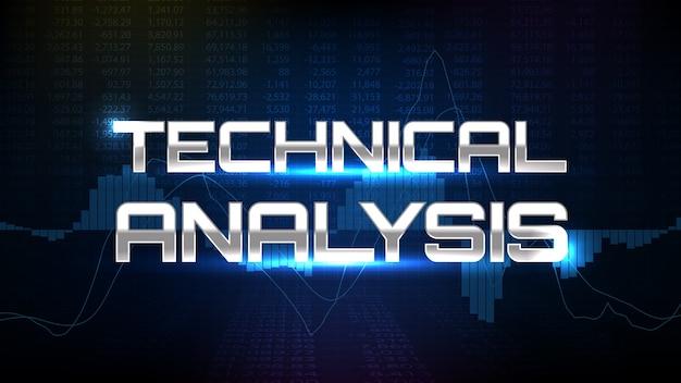Análise técnica negociação do mercado de ações do indicador macd gráfico de análise técnica