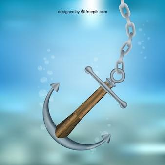 Anchor subaquática