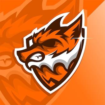 Angry fox logo