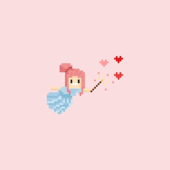 Ângulo de pixel fazendo o amor mágico