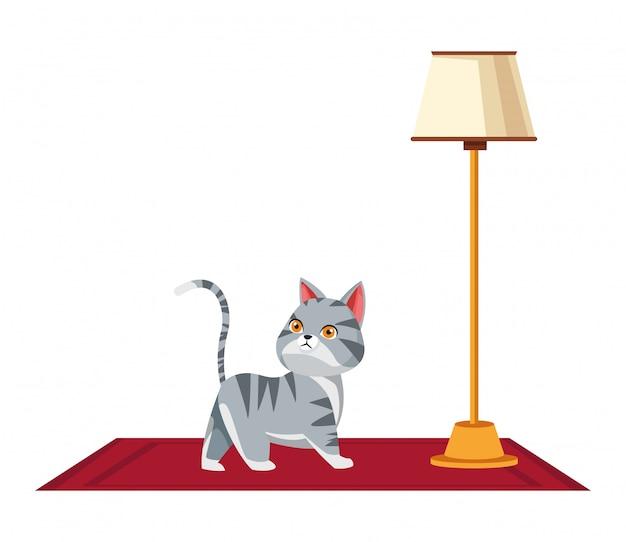Animais domésticos, e, animal estimação, ícone