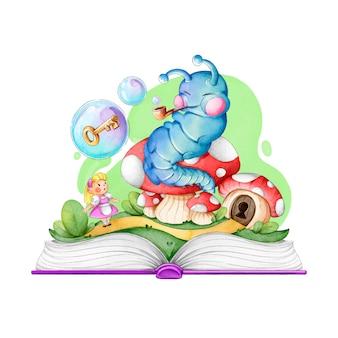 Animal de conto de fadas do livro