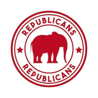 Animal de partido político republicano
