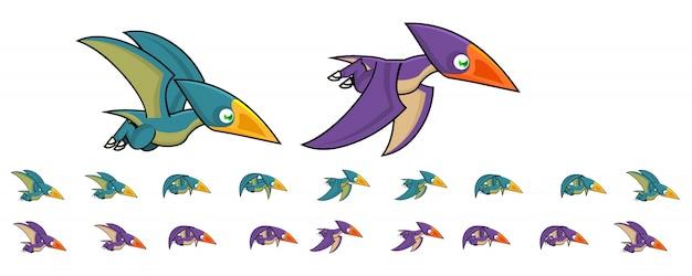 Animal pterodáctilo para jogo