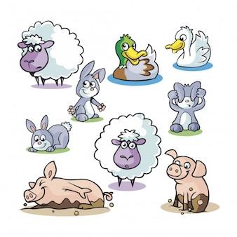 Animales infantis pack01
