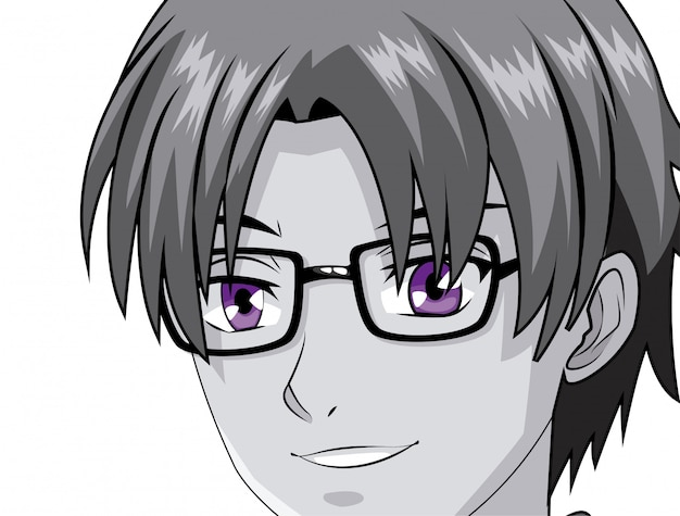 Anime mangá jovem