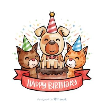 Aniversário animal