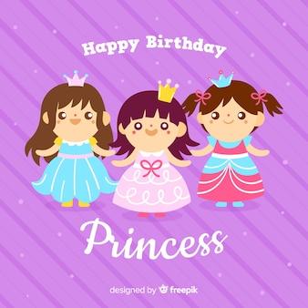 Aniversário bonito crianças