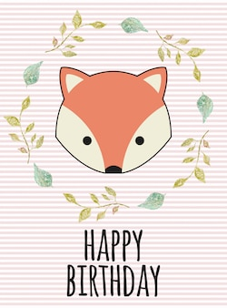 Aniversário da raposa
