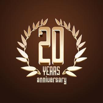 Aniversário de 20 anos