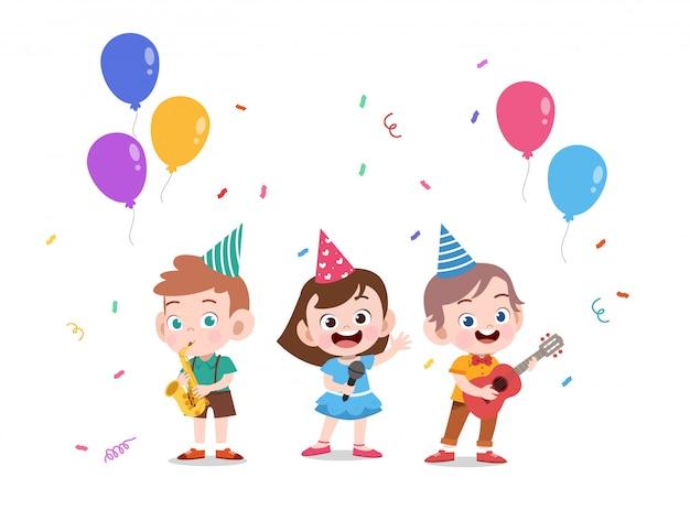 Aniversário de crianças