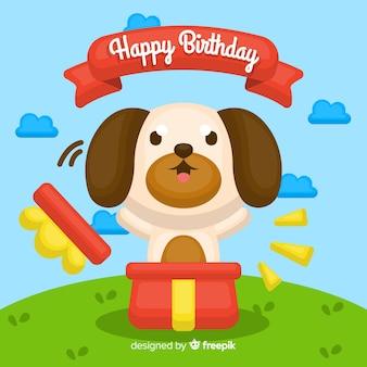 Aniversário do cão