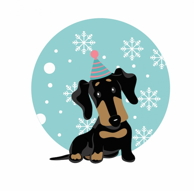 Aniversário do dachshund