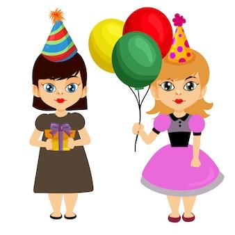 Aniversário menina trazer balão