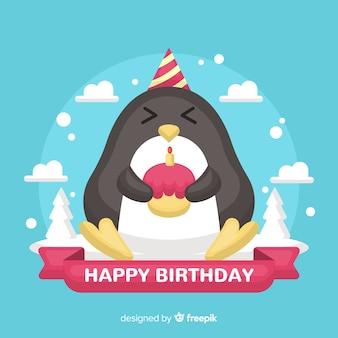 Aniversário pinguim