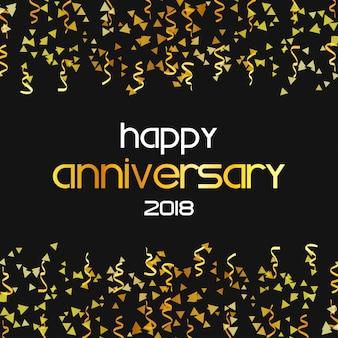 Aniversary feliz 2018