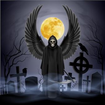 Anjo da morte.