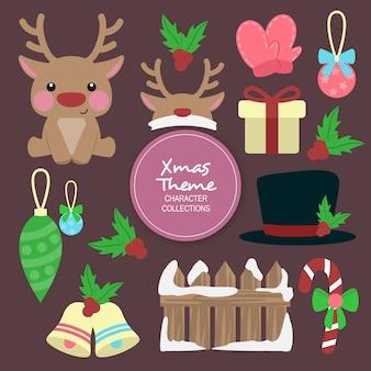 Anna natal inverno personagens