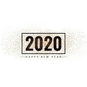 Ano novo 2020 design moderno de fundo