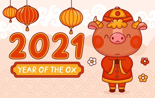 Ano novo chinês do boi