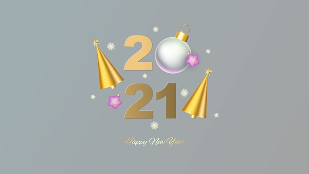 Ano novo de 2021.