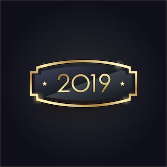 Ano novo elegante