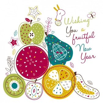 Ano novo frutuoso