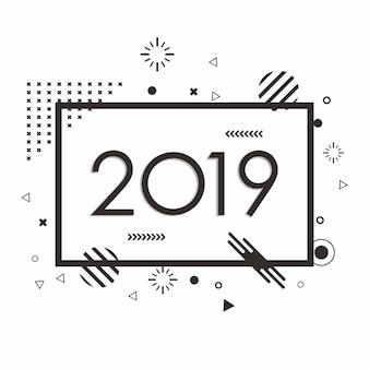 Ano novo minimalista