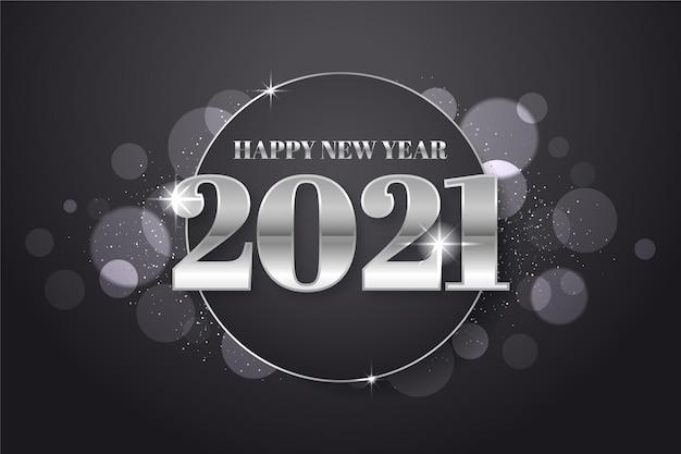 Ano novo prateado 2021