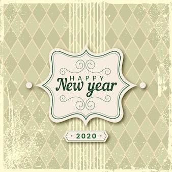 Ano novo vintage 2020