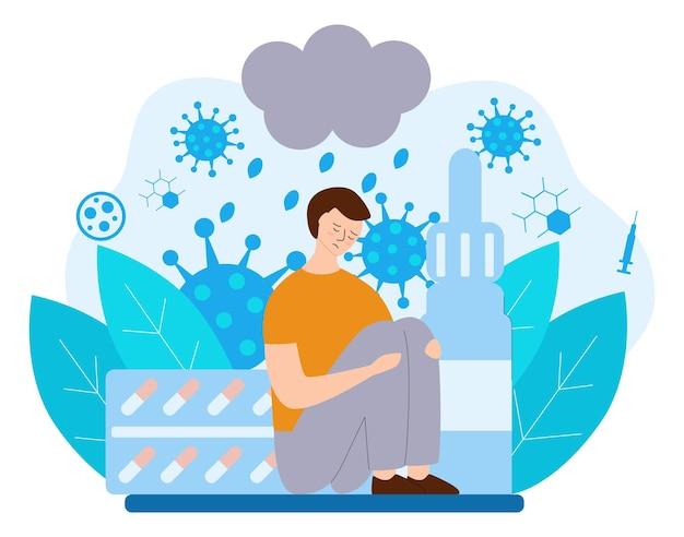 Anosmia conceito disfuncional detecção de odores pessoas com um sentido
