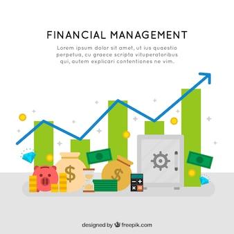 Antecedentes de gestão financeira