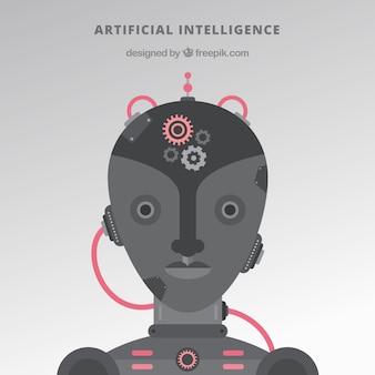 Antecedentes de inteligência artificial plana