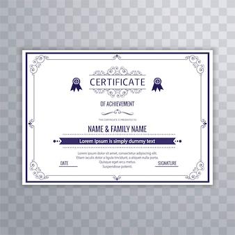 Antecedentes do certificado moderno