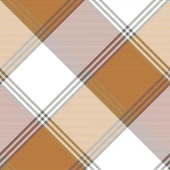Antiga seleção xadrez tecido textura sem costura padrão
