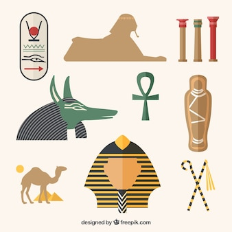 Antigos elementos da cultura egypt