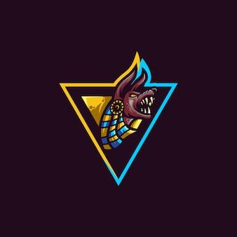 Anubis logo slogan aqui