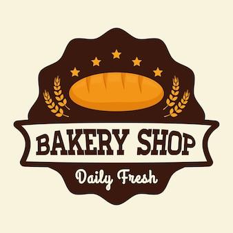 Anúncio de loja de padaria
