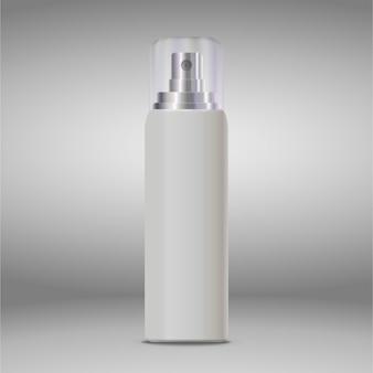 Anúncios de cosméticos, frasco de spray