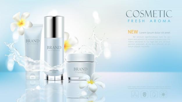 Anúncios de produtos cosméticos
