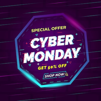 Anúncios de segunda-feira cyber