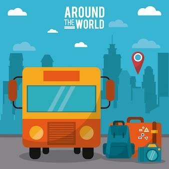 Ao redor do mundo