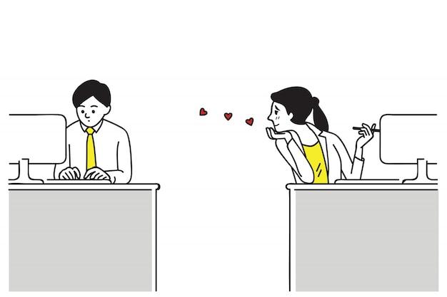 Apaixone-se no escritório