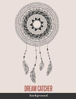 Apanhador de sonhos, boho, étnico, tribal.