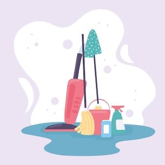 Aparelho e ferramentas de limpeza