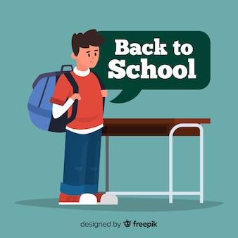 Apartamento, crianças, volta, para, escola, cobrança