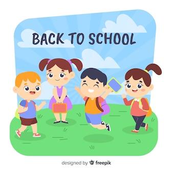 Apartamento de volta para as crianças da escola