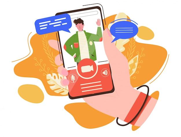 Aplicação de chat por vídeo