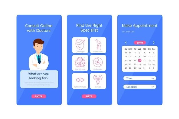 Aplicação de reserva médica
