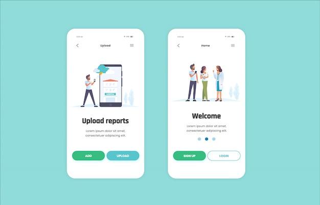 Aplicação móvel de saúde